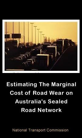 Estimating the Marginal Cost of Road Wear