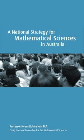 National Strategy for Math Sciences in Australia